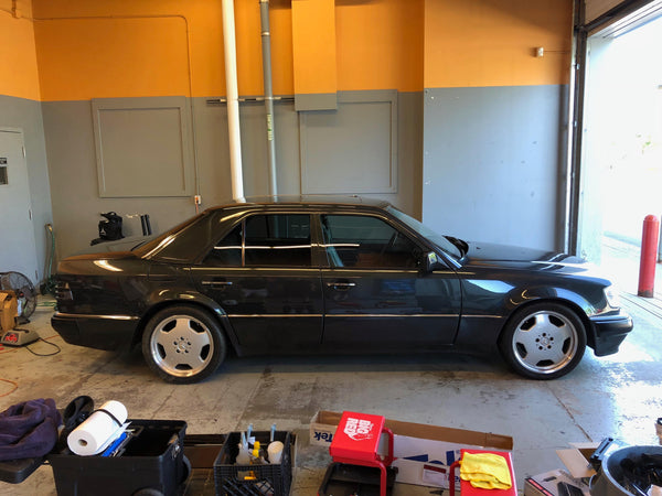 Mercedes 500E Window Tint