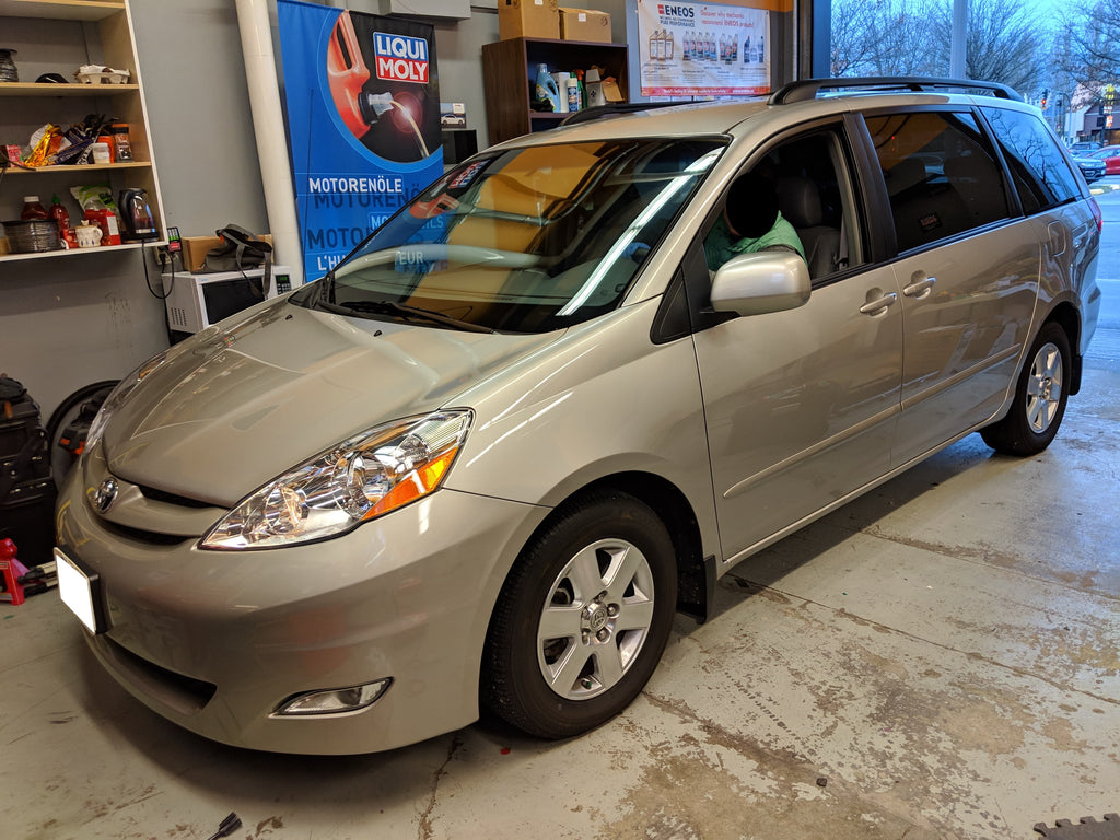 toyota sienna overdrive