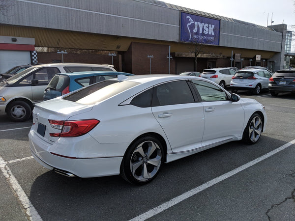 Honda accord 18% rear window tint