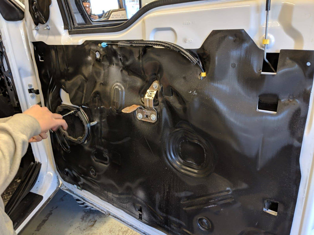 Ford f-150 door removal