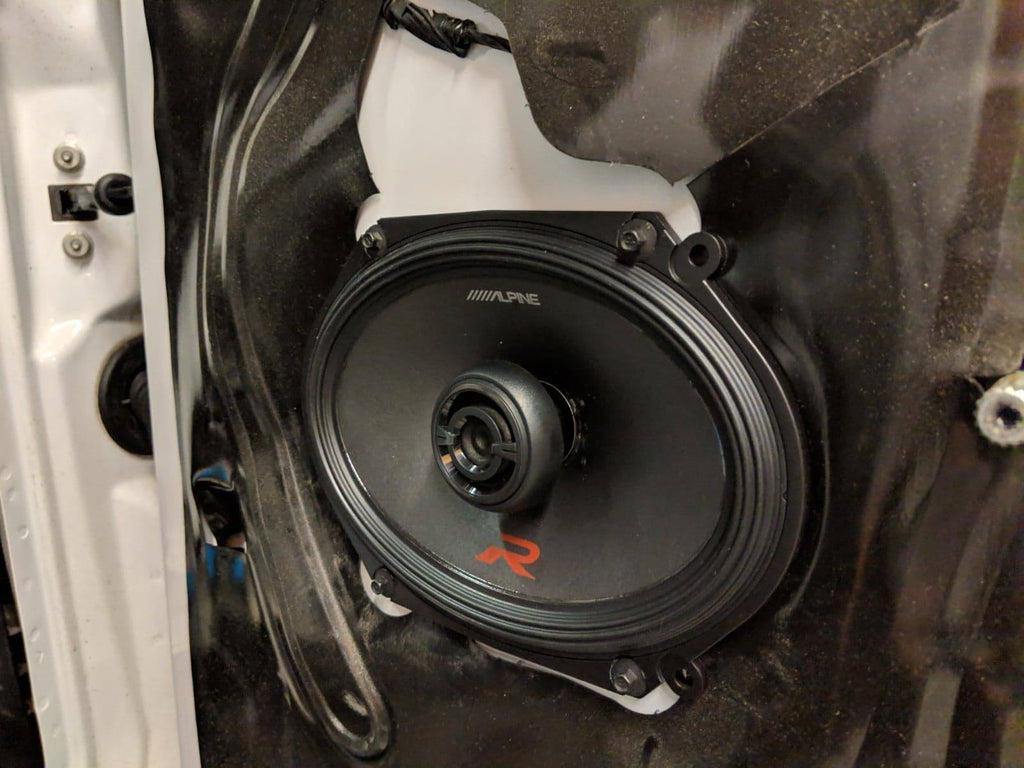Ford F-150 Pioneer Deck and Alpine Speaker Install – Overdrive Auto