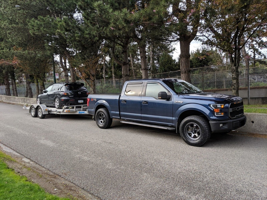 F-150 towing mazda 3 levelling kit