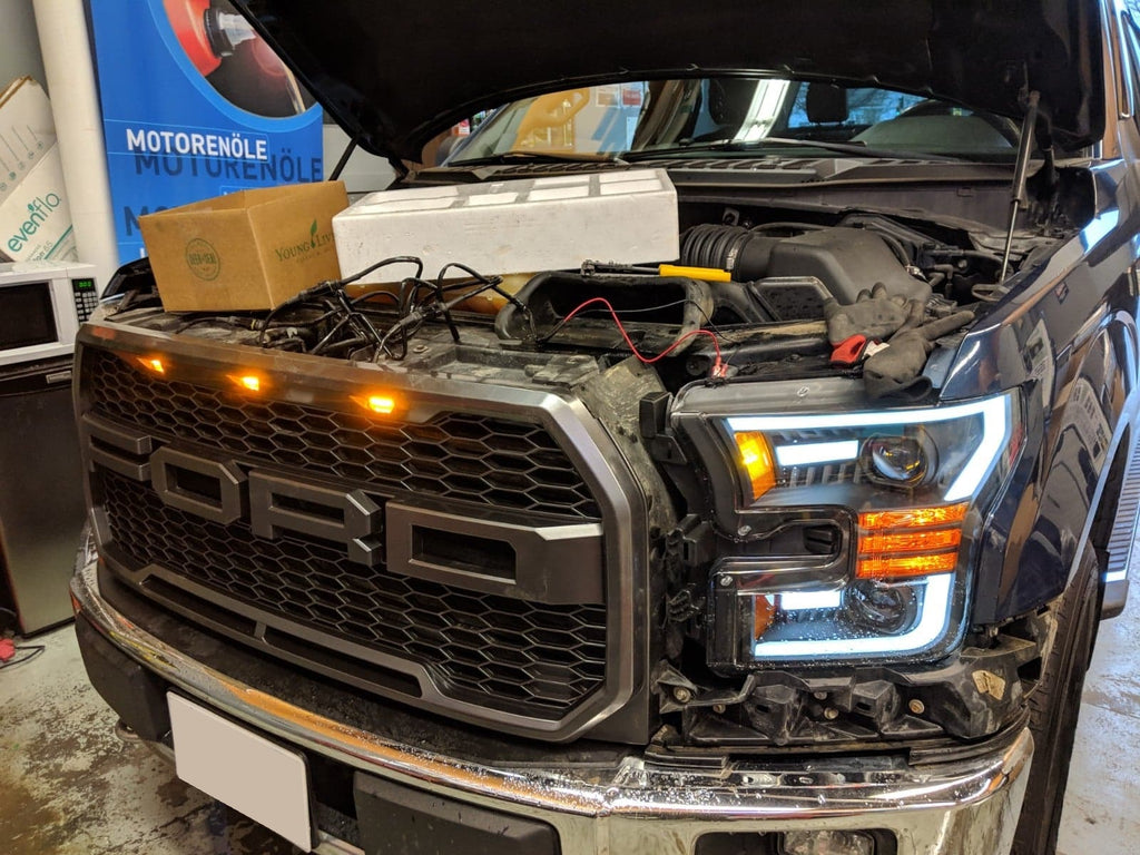 Raptor grille and headlights 2016 f-150