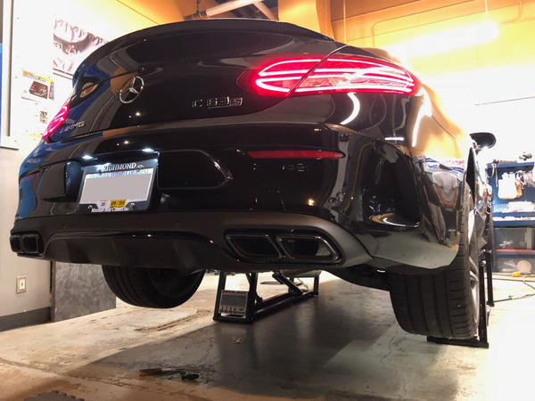 AWE Exhaust Track Edition C63S W205 Coupe