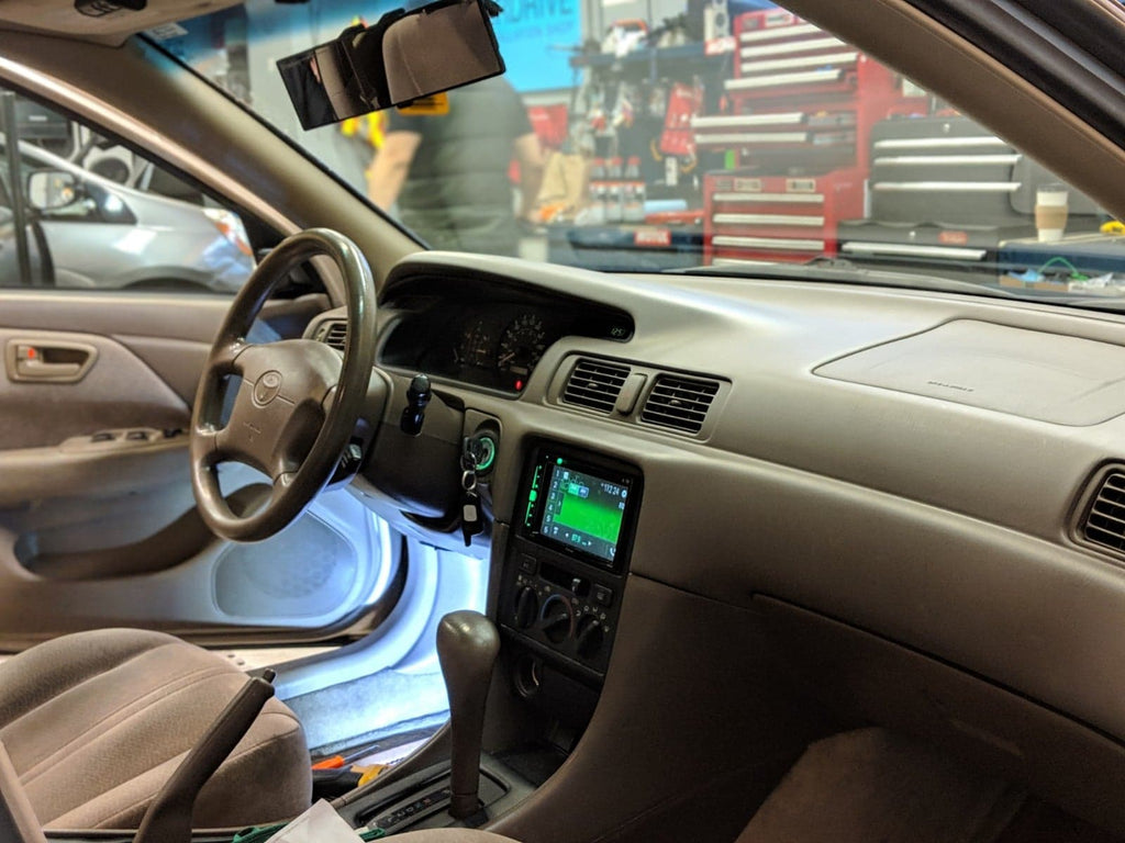 Toyota Camry Pioneer Double Din + Backup Camera – Overdrive