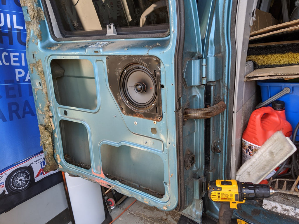 Chevrolet astro rear door speakers
