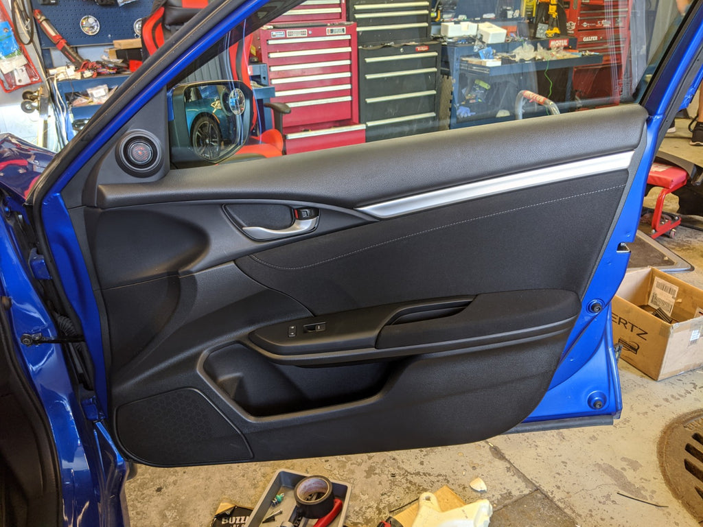 10th gen civic door card