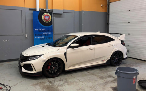 Civic Type R F770 overdrive