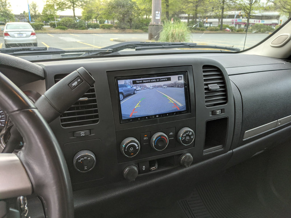 GMC Sierra backup camera