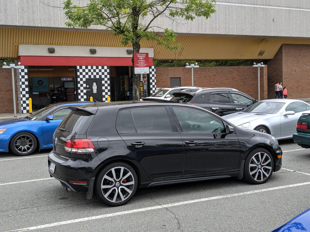 VW GTi mk6 window tint