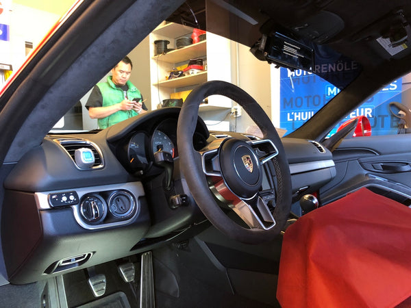 Cayman GT4 Interior mirror cam