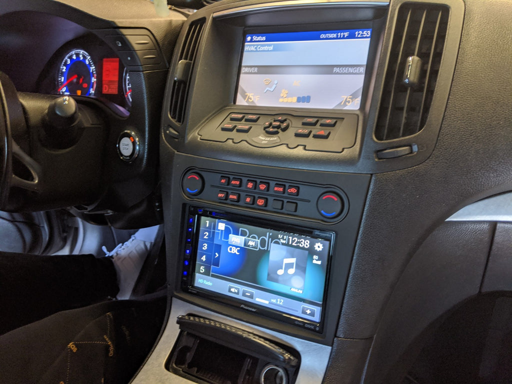 G37 pioneer double din