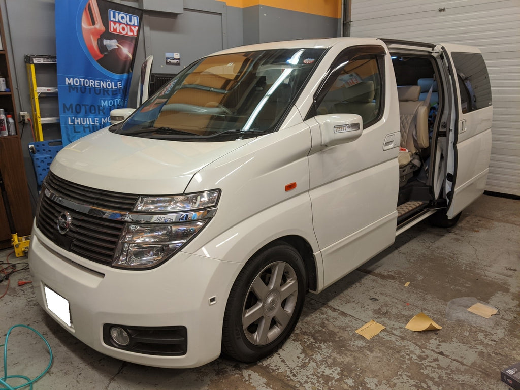 Nissan Elgrand Overdrive