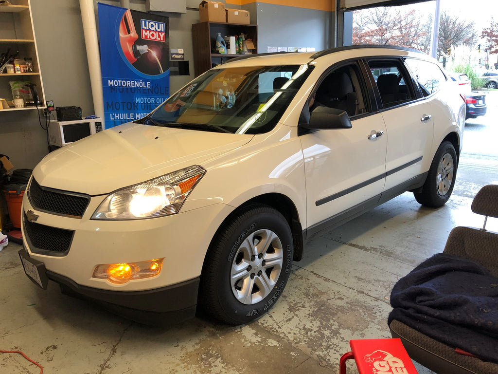 Chevrolet Traverse overdrive