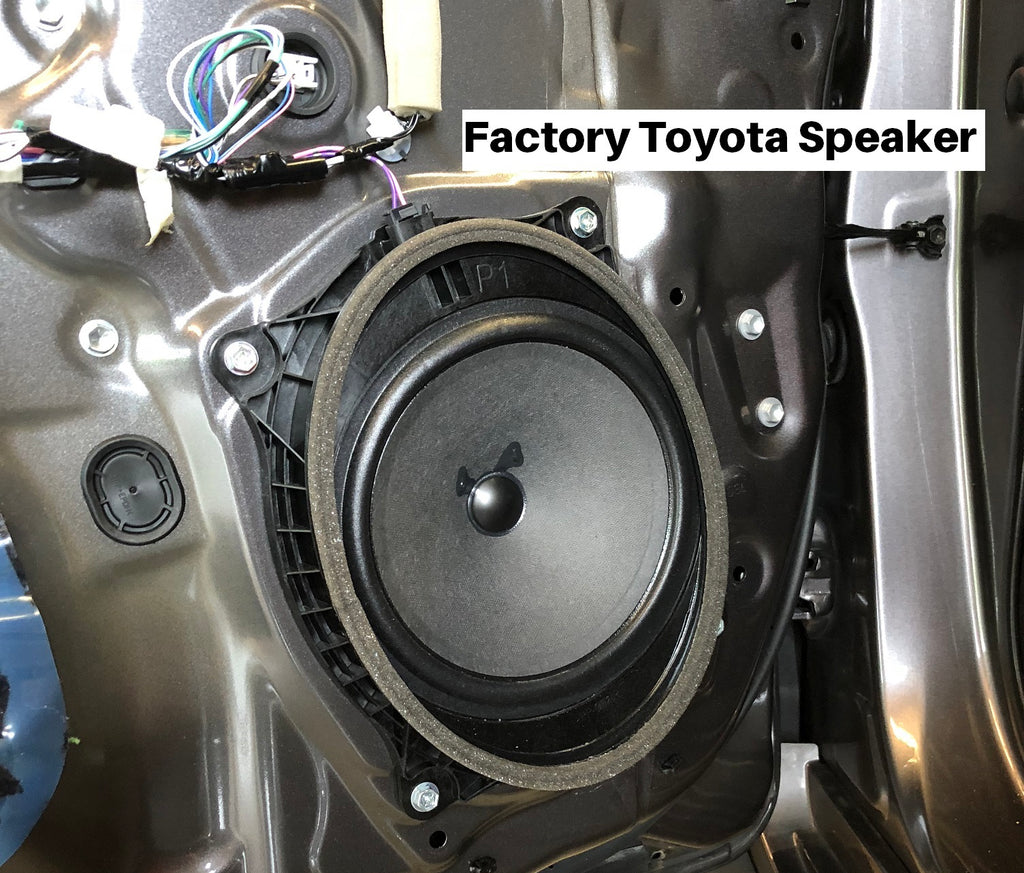 Factory toyota speakers 2014 camry