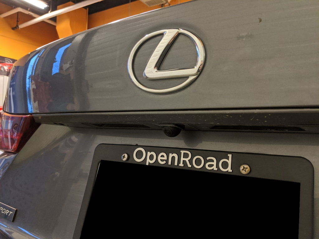 Lexus IS backup camera