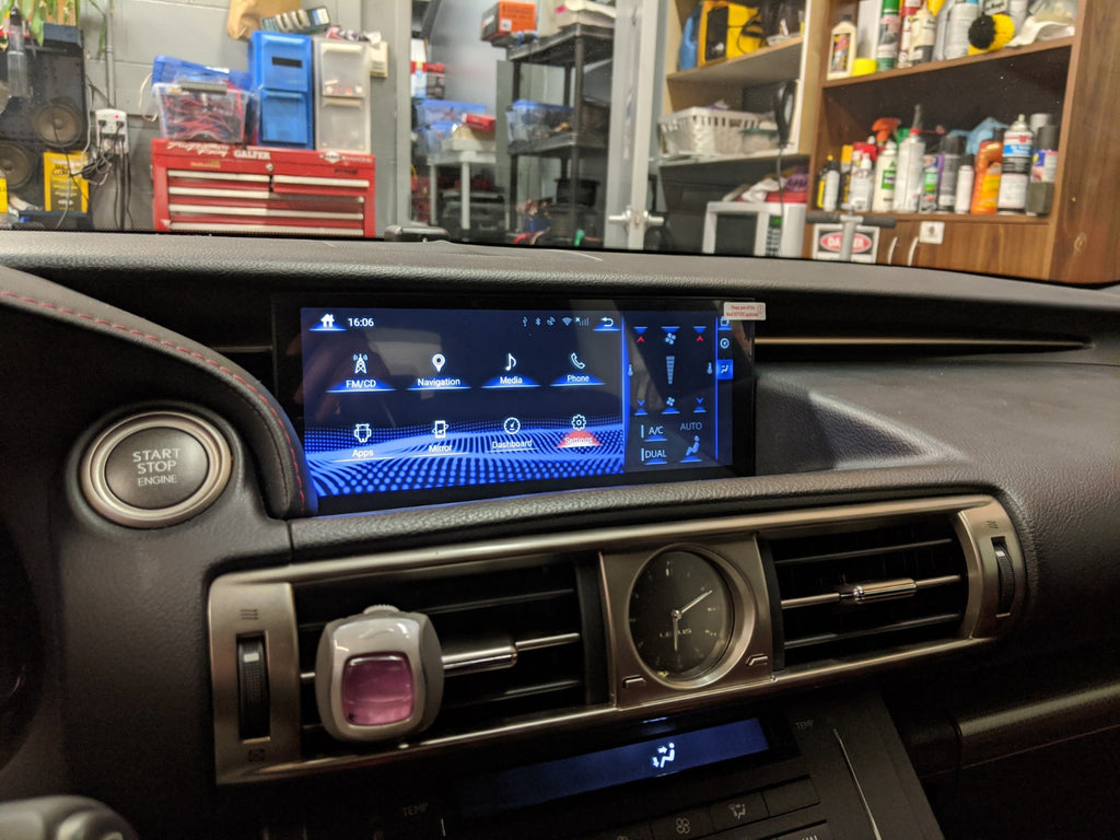 Lexus IS 10.25 android