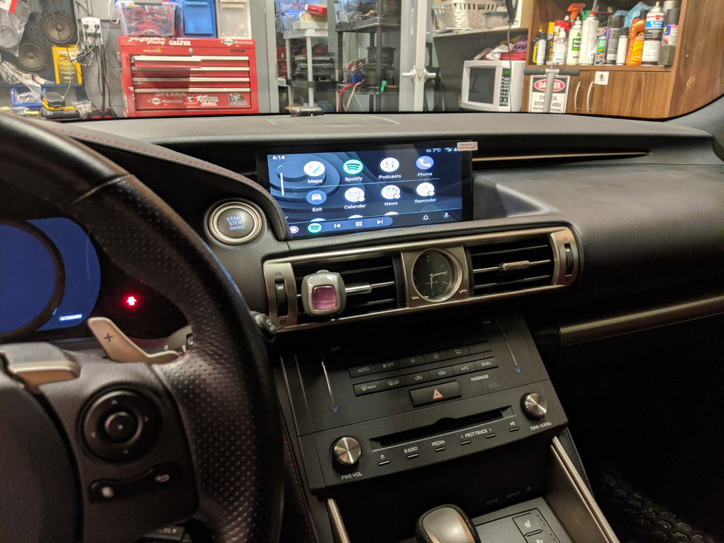 Lexus IS third gen android auto
