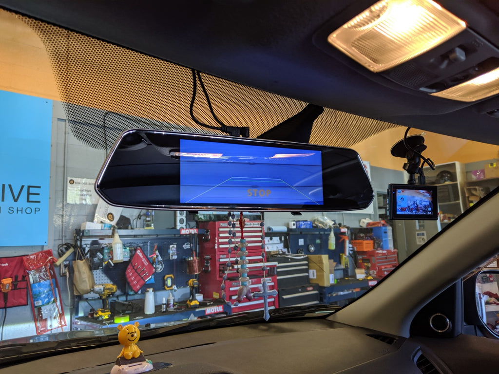 Mitsubishi RVR rearview mirror backup cam