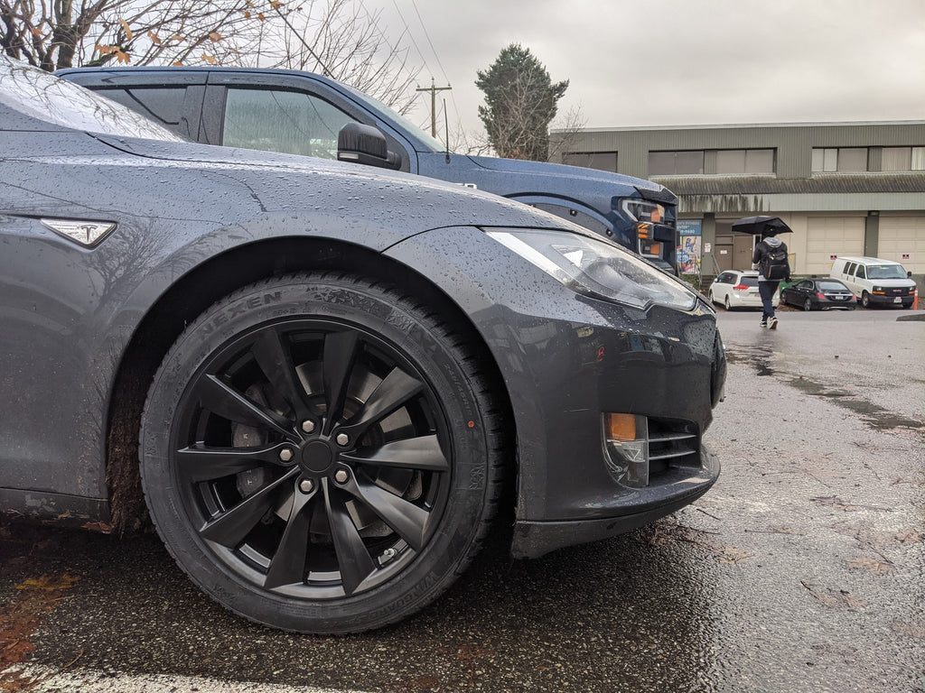Tesla model s nexen winter tires tpms