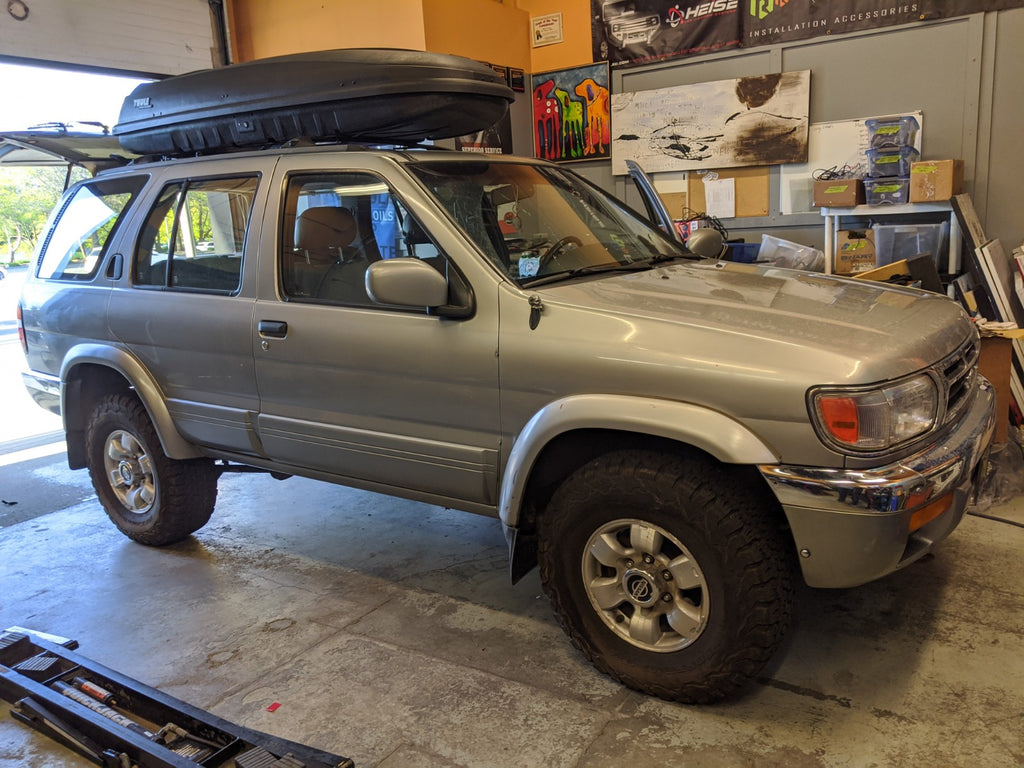 Nissan Pathfinder R50 Pioneer Stereo And Subwoofer Overdrive Auto Tuning