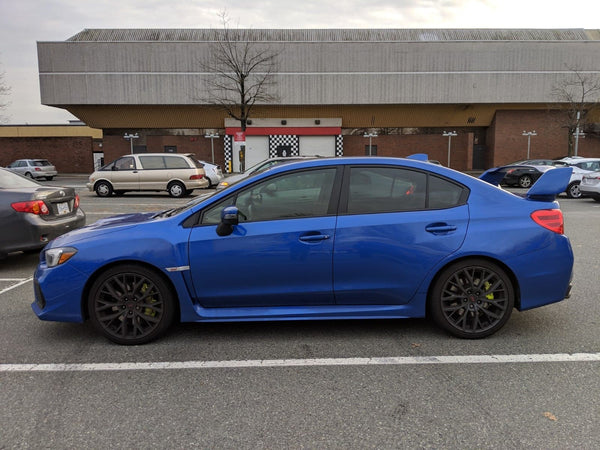 STI Window tint 55 35%