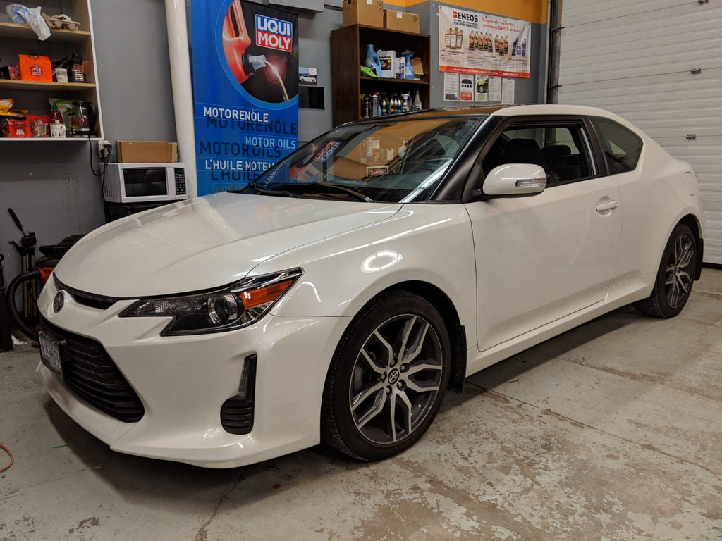 sCION tc overdrive backup cam