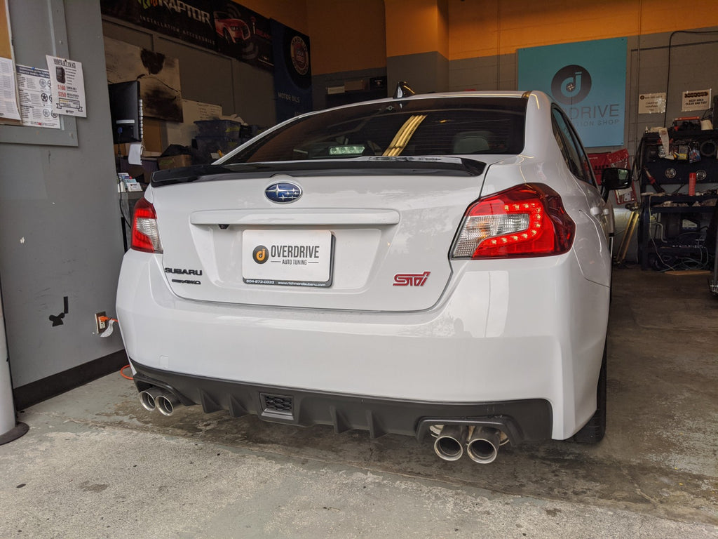 Series.white sti sedan