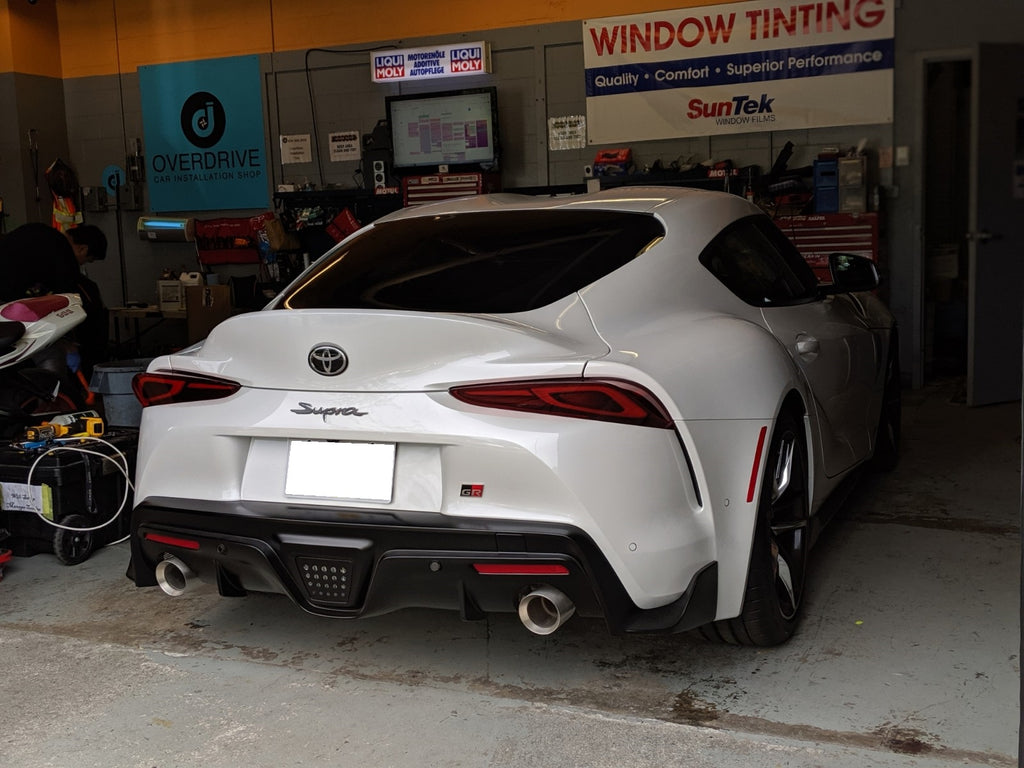 Toyota A90 Supra rear overdrive