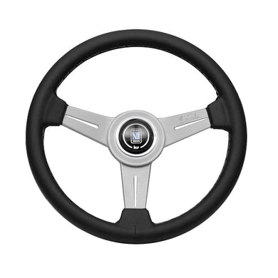 Nardi Classic 330mm Leather and Aluminum Steering Wheel - Overdrive Auto Tuning, Steering Wheels auto parts
