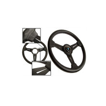 Nardi Classic 330mm Black Leather and Aluminum Steering Wheel - Overdrive Auto Tuning, Steering Wheels auto parts