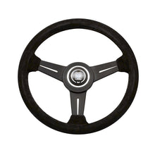 Nardi Classic 330mm Black Suede Steering Wheel - Overdrive Auto Tuning, Steering Wheels auto parts