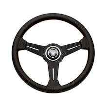 Nardi Classic 360mm Black Perforated Leather and Red Stitch Steering Wheel - Overdrive Auto Tuning, Steering Wheels auto parts