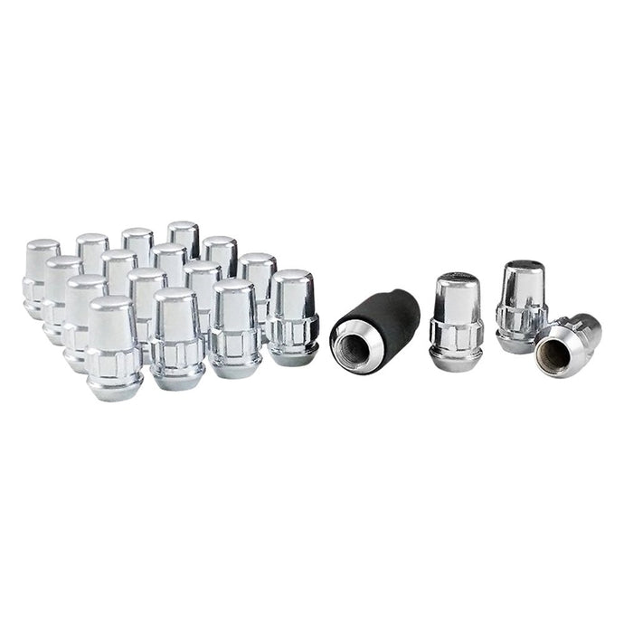 Gorilla Acorn Locking Silver Lug Nuts - Overdrive Auto Tuning, Wheel Accessories auto parts