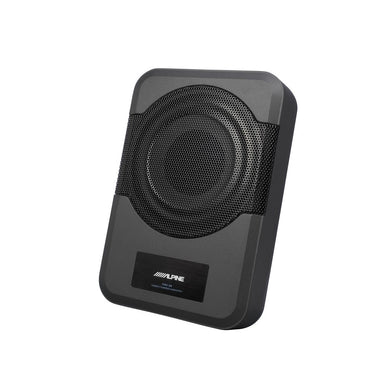 Alpine PWE-S8 Compact Powered 120W Subwoofer - Overdrive Auto Tuning, Car Audio auto parts