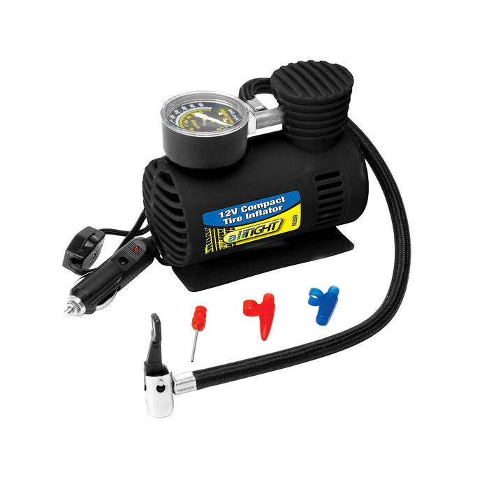 Performance Tool Compact 12V Tire Inflator - Overdrive Auto Tuning, 12V Accessories auto parts