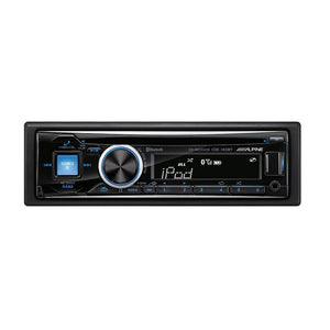 Alpine CDE-143BT Bluetooth CD Receiver - Overdrive Auto Tuning, Car Audio auto parts