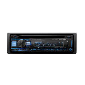 Alpine CDE-172BT Bluetooth CD Receiver - Overdrive Auto Tuning, Car Audio auto parts