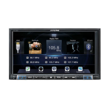 Alpine iLX-207 Android Auto & Apple CarPlay Receiver - Overdrive Auto Tuning, Car Audio auto parts