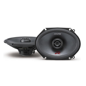 "Alpine R-S68 6x8"" 2-Way Coaxial Speakers - Overdrive Auto Tuning, Car Audio auto parts"