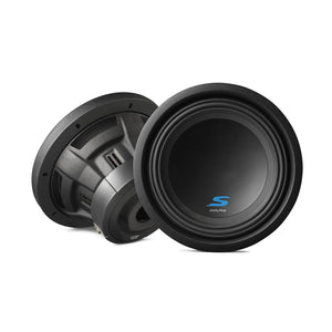 "Alpine S-W10D4 10"" Dual 4 Ohm Subwoofer - Overdrive Auto Tuning, Car Audio auto parts"