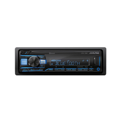 Alpine UTE-73BT Bluetooth Receiver - Overdrive Auto Tuning, Car Audio auto parts