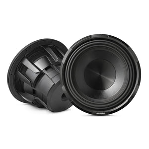 "Alpine X-W12D4 12"" Dual 4-Ohm Subwoofer - Overdrive Auto Tuning, Car Audio auto parts"