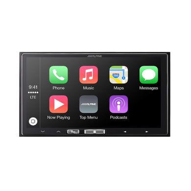 Alpine iLX-107 Wireless CarPlay Receiver - Overdrive Auto Tuning, Car Audio auto parts