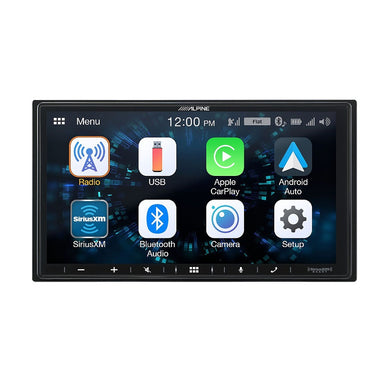 Alpine iLX-W650 Receiver with Android Auto & Apple CarPlay - Overdrive Auto Tuning, Car Audio auto parts