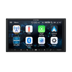 Alpine iLX-W650 Media Receiver (Android/CarPlay) - Overdrive Auto Tuning, Car Audio auto parts