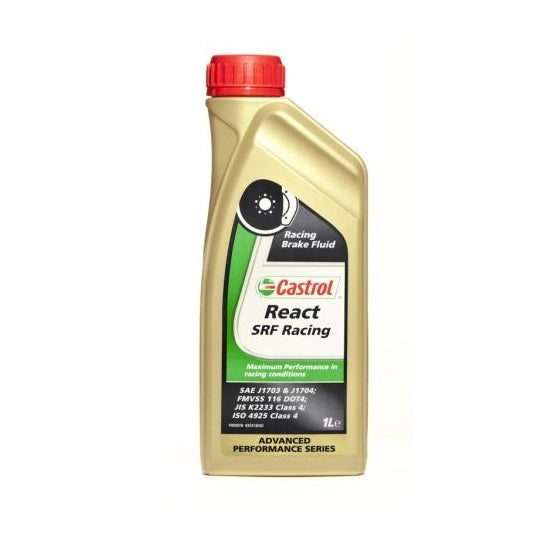 Castrol React SRF Racing Brake Fluid - Overdrive Auto Tuning, Lubricants and Additives auto parts