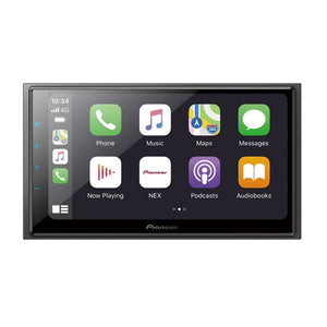 Pioneer DMH-W4660NEX Media Receiver (Wireless Android/CarPlay) - Overdrive Auto Tuning, Car Audio auto parts