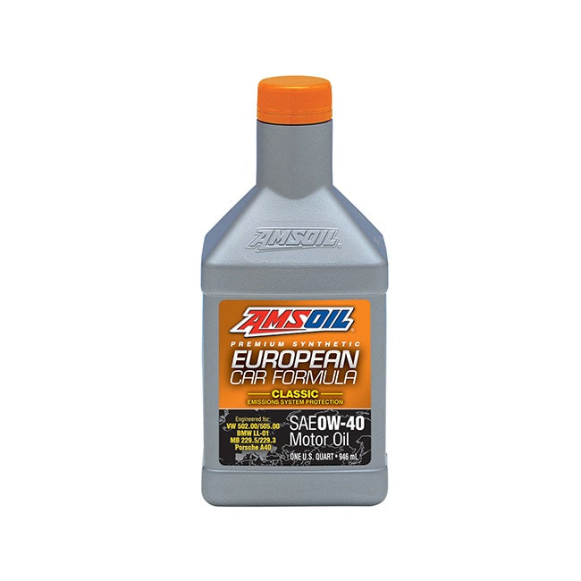 AMSOIL European Classic ESP 0W-40 Synthetic Motor Oil