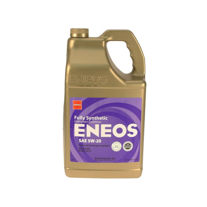 ENEOS 5W-20 Fully Synthetic Motor Oil 5 Qt - Overdrive Auto Tuning, Lubricants and Additives auto parts